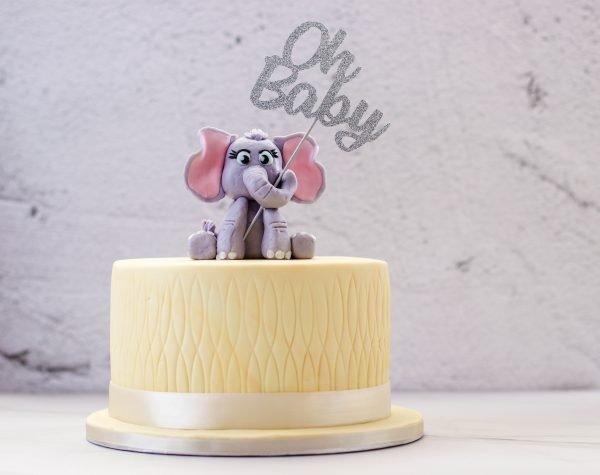 Tiramisu Bakery - Baby Shower Themed Cake