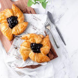 Tiramisu Bakery - Blueberry Danish