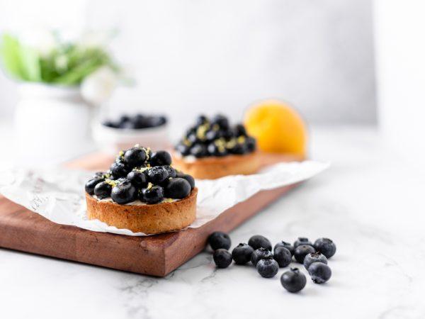 Tiramisu Bakery - Blueberry Tart