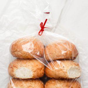 Tiramisu Bakery - Burger buns 6pc