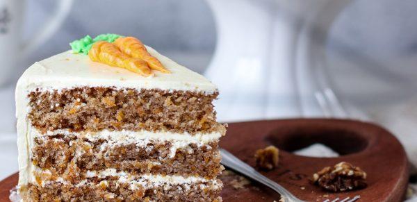 Tiramisu Bakery - Carrot Cake slice