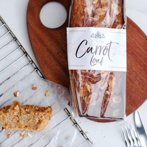 Tiramisu Bakery - Carrot Loaf