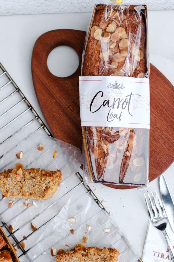 Tiramisu Bakery - Carrot Loaf scaled
