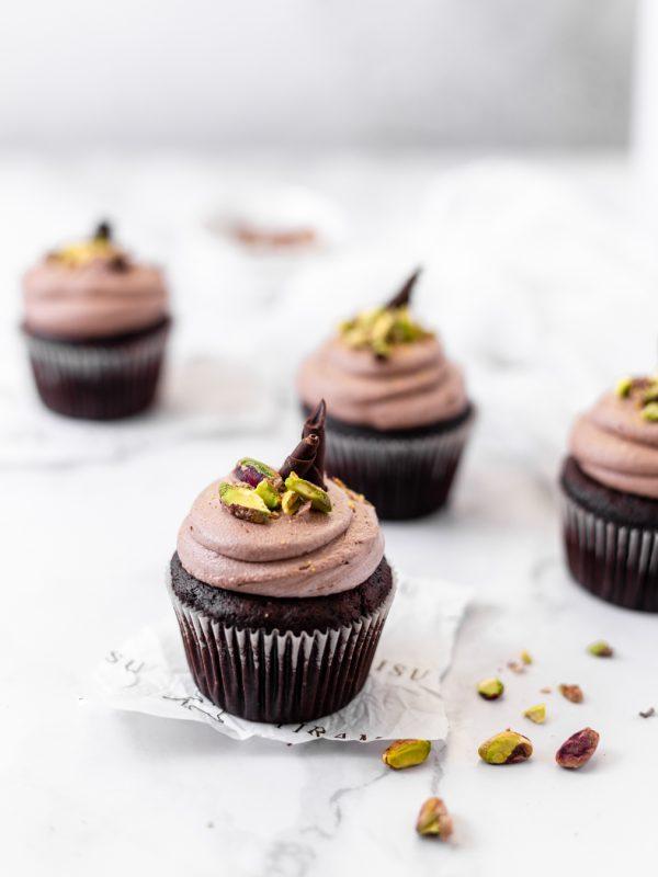 Tiramisu Bakery - Chocolate Pistachio Cupcakes