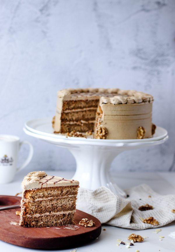 Tiramisu Bakery - Coffee Walnut Cake