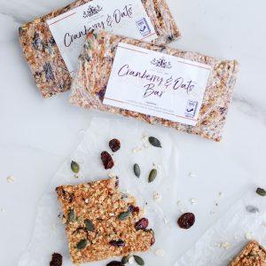 Tiramisu Bakery - Cranberry Oat Bars