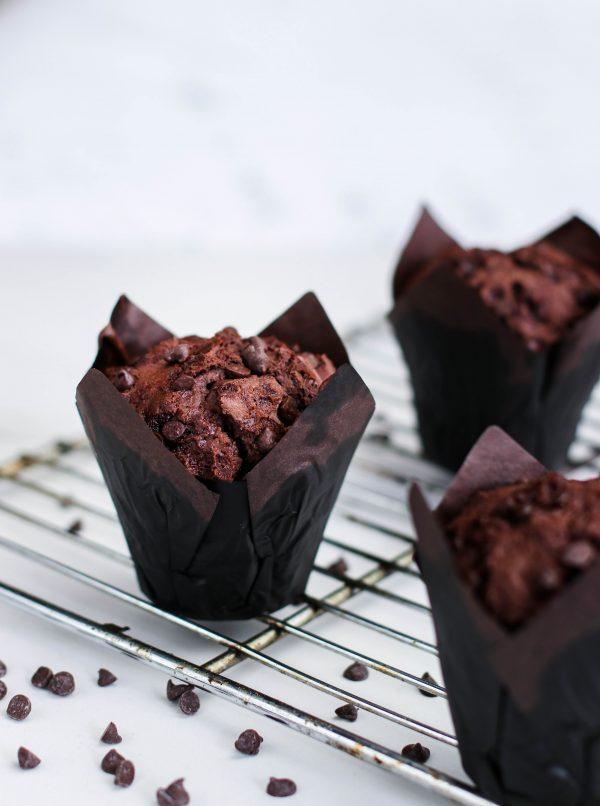 Tiramisu Bakery - Double Chocolate Chip Muffins scaled