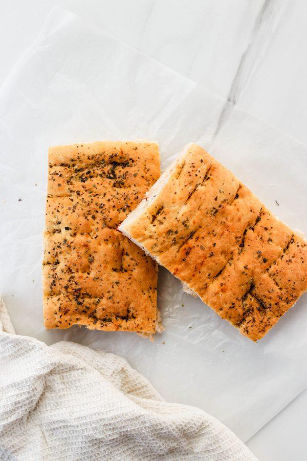 Tiramisu Bakery - Focaccia Bread scaled