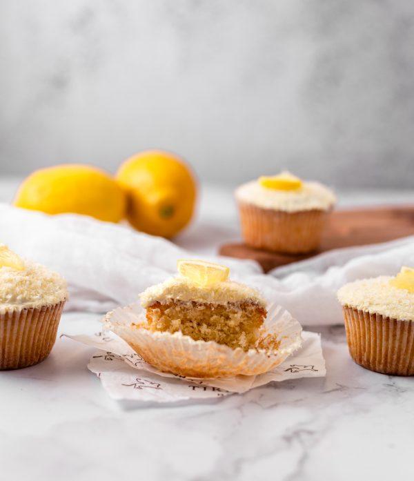 Tiramisu Bakery - Lemon Coconut Cupcakes