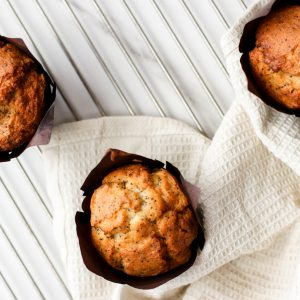 Tiramisu Bakery - Lemon poppy muffins