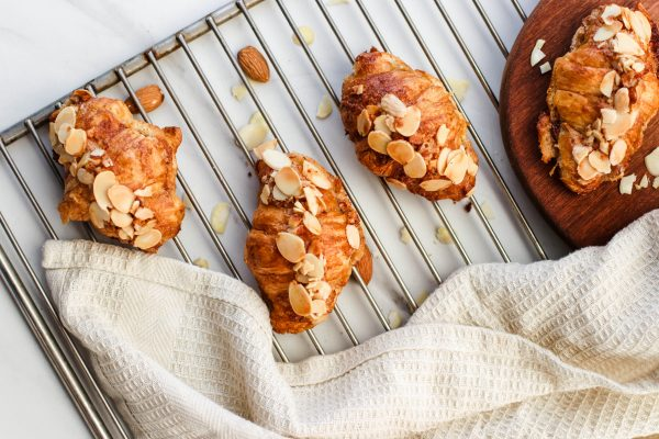 Tiramisu Bakery - Mini Almond Croissants scaled