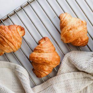 Tiramisu Bakery - Mini Plain Butter Croissants