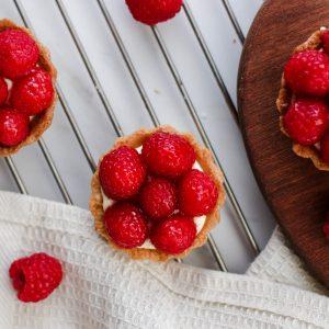Tiramisu Bakery - Mini Raspberry Tarts