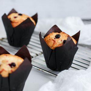 Tiramisu Bakery - Mixed Berry Muffins
