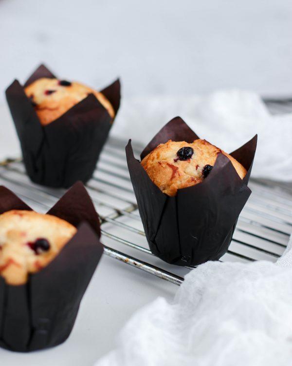 Tiramisu Bakery - Mixed Berry Muffins scaled