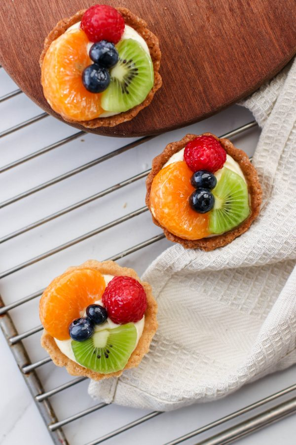Tiramisu Bakery - Mixed fruit tarts 4 pieces scaled