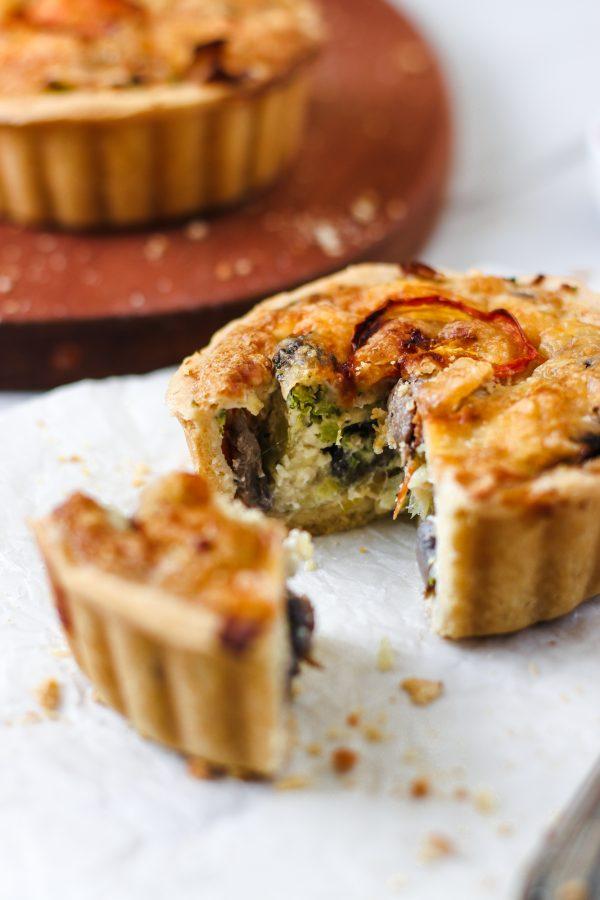 Tiramisu Bakery - Mushroom Quiche