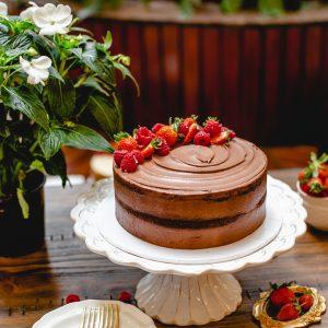 Tiramisu Bakery - Naked Chocolate Cake