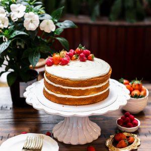 Tiramisu Bakery - Naked Vanilla Cake New