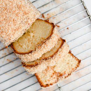 Tiramisu Bakery - Orange Coconut Tea Loaf