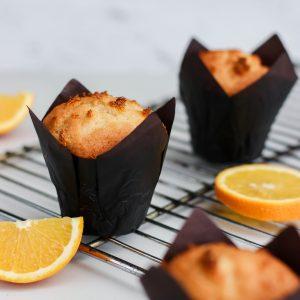 Tiramisu Bakery - Orange Muffins
