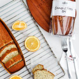 Tiramisu Bakery - Orange Poppy Loaf