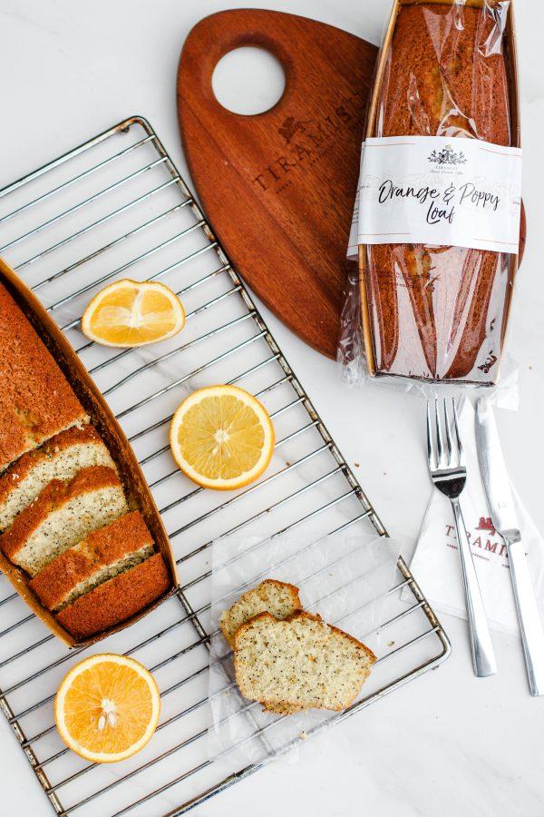 Tiramisu Bakery - Orange Poppy Loaf scaled