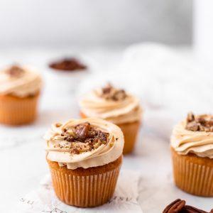 Tiramisu Bakery - Pecan Tart Cupcake