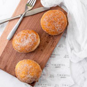 Tiramisu Bakery - Plain Donuts with Cinnamon Sugar
