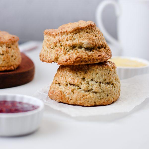 Tiramisu Bakery - Plain tea scones