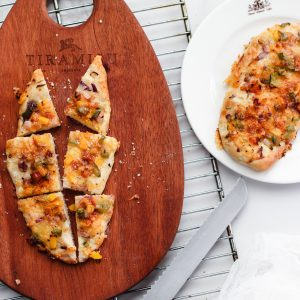 Tiramisu Bakery - Salsa Flat Bread