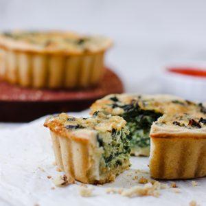Tiramisu Bakery - Spinach Quiche
