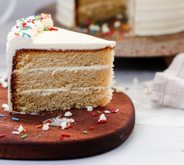 Tiramisu Bakery - Vanilla Cake slice
