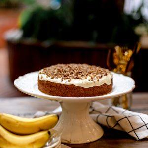 Tiramisu Bakery - Banana Cake with Brown Butter Icing