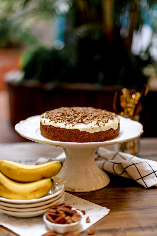 Tiramisu Bakery - Banana Cake with Brown Butter Icing scaled