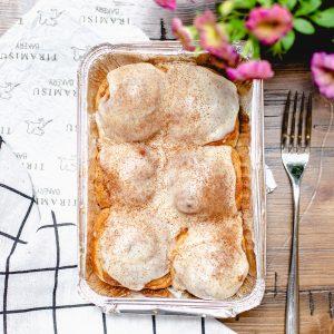 Tiramisu Bakery - Brown Butter Cream Cheese Cinammon Rolls