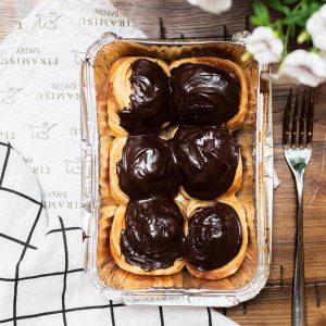 Tiramisu Bakery - Chocolate Cinammon Rolls