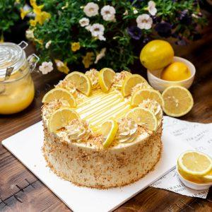 Tiramisu Bakery - Lemon Coconut cake