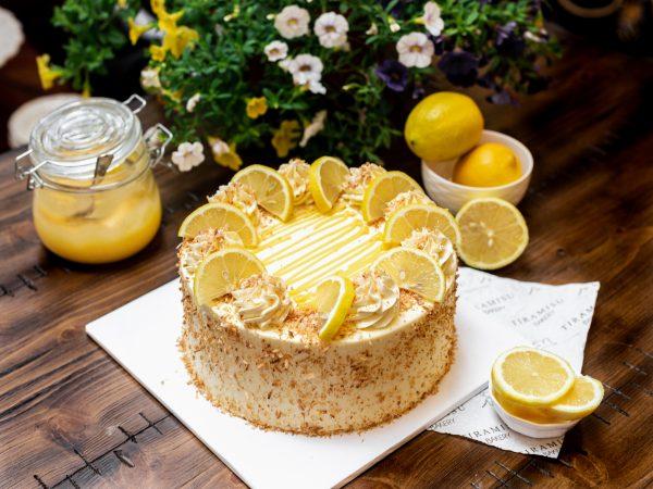 Tiramisu Bakery - Lemon Coconut cake scaled