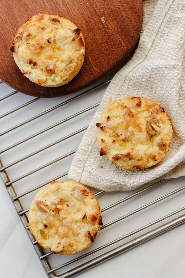 Tiramisu Bakery - Mini Chicken Leech Quiche scaled